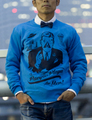 for men Sweat (Blue)