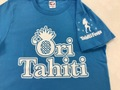 Ori Tahiti  Tシャツライトブルー