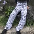 blu quest rope pattern towel pants