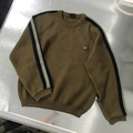 BiC wool 100% brown knit