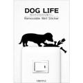 ステッカー<DOG LIFE 1>