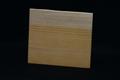 筆文字で書いた天然木サンクスボード No.15 欅の天然木