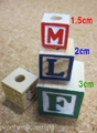 ABCブロック 2cmx5個セット