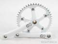 EighthInch Crankset white T46-PCD130