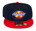 DPG CLOTHING SNAPBACK CAP Navy + Red
