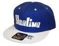 Blueline Snap Back CAP BL×WH