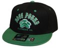 DPG CLOTHING SNAPBACK CAP BLACK&GREEN