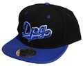 DPG CLOTHING SNAPBACK CAP BLACK&BLUE