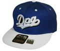DPG CLOTHING SNAPBACK CAP BLUE&WHITE