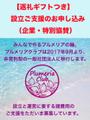 【返礼つき】プルメリアクラブの社団法人化に伴う協賛のお申し込み(企業・個人特別協賛)