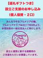 【返礼つき】プルメリアクラブの社団法人化に伴う協賛のお申し込み(個人協賛・2口)