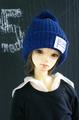 ニット帽 / ブルー