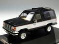 PRD231 フォード ブロンコ II 1989(ブラック/シルバー)