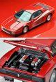 TLV-NEO137 フェラーリ テスタロッサ 1987後期型(赤)