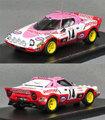 S9101 ランチア ストラトスHF(No.14/C.Dacremont)1977モンテカルロラリー6位 女性ドライバークラス優勝