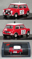 S4890 モーリス ミニ クーパーS(No.37/Paddy Hopkirk)1964モンテカルロラリー優勝