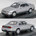 C43068 日産スカイライン GTS 25t [R33] 4ドアセダン 1993(スパークシルバーツートン)
