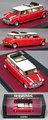 MX30110-031 ミニ クーパー リムジン 1990(ホワイト/レッド)