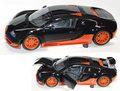 100110840 ブガッティ ベイロン スーパースポーツ 2010[WORLD RECORD CAR](カーボン/オレンジ)
