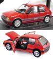 184853 プジョー205 GTi 1.6L 1988(レッド)
