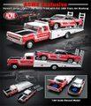 GL51149 フォードF-350 Ramp Truck + 1969Trans-Amマスタング(No.15/ParnelliJones)セット