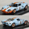 43LM68 フォード GT40(No.9/P.Rodríguez/L.Bianchi)1968ル・マン24時間レース優勝