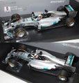 110140144 メルセデスAMG F1チームW05(L .ハミルトン)2014マレーシアGP 優勝