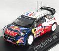 155356 シトロエン DS3 WRC ワールドチャンピオン 2012年フランスラリー(Loeb/Elena)
