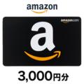 Amazonギフト券(コード送付) 3,000円分