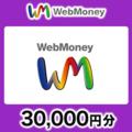 WebMoneyコード(コード送付) 30,000円分