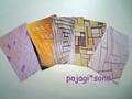 ポジャギ ポストカードセット(A)