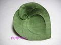 葉っぱのコースターのキット葉脈 ■ 抹茶