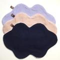 【雲のハンカチもくもくさん】8重ガーゼ・パイル地3色