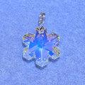 スワロフスキーPT 雪の結晶24 クリスタルAB 030