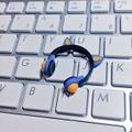 ★★完成品限定 1/12 ネコミミヘッドフォン(青×オレンジ)