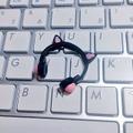 ★★完成品限定 1/12 ネコミミヘッドフォン(黒×ピンク)