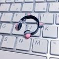 ★★完成品限定 1/12 ネコミミヘッドフォン(グレー×ピンク)