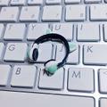 ★★完成品限定 1/12 ネコミミヘッドフォン(白×緑)