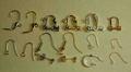 イヤリング/ピアス交換用金具の例