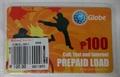 フィリピンGlobe Telcom ロードカード 100ペソ