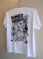 RUMBLE BARBER - S/S T-shirt (WHITE)