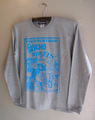 CHOPPERTOON - L/S T-shirt (MIX GRAY)