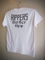 RIPPERS CLASSIC - S/S T-shirt (White/Black print)