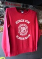 PSYCHO UNIVERSITY - CREW NECK SWEAT (RED PEPPER)