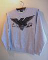 RIPPERS HAWK CREWNECK SWEAT (GRAY)