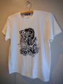GORILLA ROD - S/S T-shirt (VANILLA WHITE)