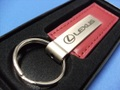 Lexus Red Leather Key Chain