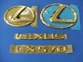 LEXUS LX570 24K ゴールドエンブレムキット