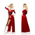 クリスマス ロングガウン&パンツ5点セット(C2869)