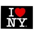 【USA】I LOVE NY アイラブニューヨーク NYポストカード 大(US3457)